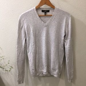 GNW Luxe Grey Cashmere Sweater